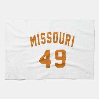 Missouri 49 Birthday Designs Kitchen Towels