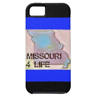 """Missouri 4 Life"" State Map Pride Design iPhone 5 Cover"