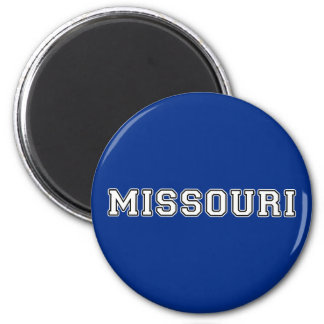 Missouri 6 Cm Round Magnet