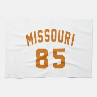 Missouri 85 Birthday Designs Tea Towel