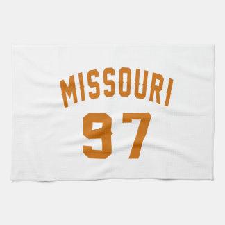 Missouri 97 Birthday Designs Hand Towel