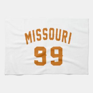 Missouri 99 Birthday Designs Kitchen Towels