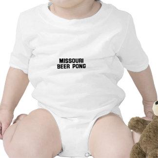Missouri Beer Pong T-shirts