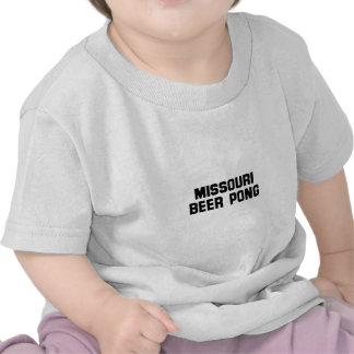 Missouri Beer Pong Tshirts