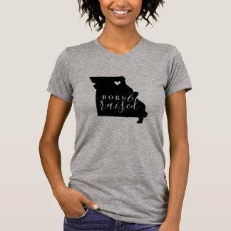Missouri Born and Raised State Tee