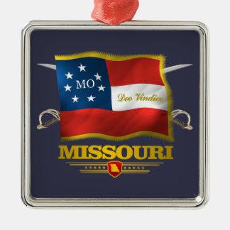 Missouri Deo Vindice Metal Ornament