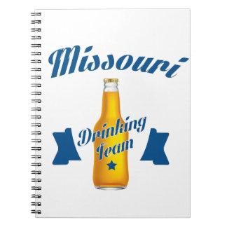 Missouri Drinking team Notebook