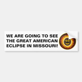 Missouri Eclipse Bumper Sticker