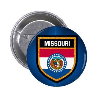 Missouri Flag 6 Cm Round Badge