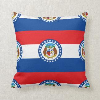 MISSOURI FLAG THROW PILLOWS