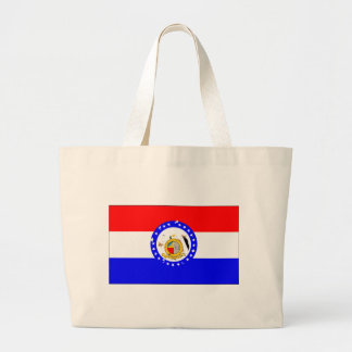 missouri-Flag Large Tote Bag
