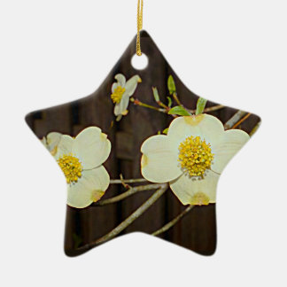 Missouri Flowering Dogwood Tree Ceramic Ornament