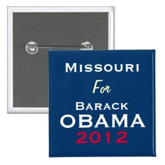 MISSOURI For OBAMA 2012 Campaign Button
