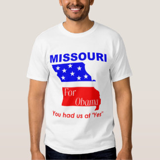 Missouri for Obama Shirt