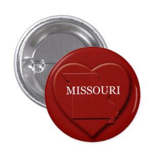 Missouri Heart Map Design Button