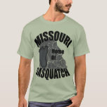 Missouri Home of Sasquatch T-shirt