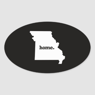 Missouri Home Oval Sticker