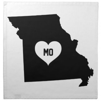 Missouri Love Napkin