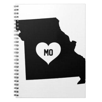 Missouri Love Notebook