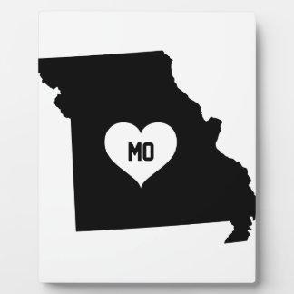 Missouri Love Plaque
