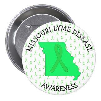 Missouri Lyme Disease Awareness Button