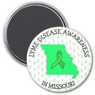 Missouri Lyme Disease Ribbons Awareness Magnet