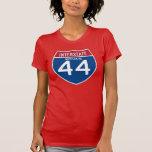 Missouri MO I-44 Interstate Highway Shield - Tshirt