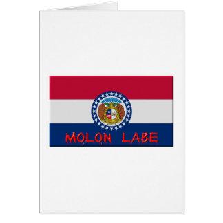 Missouri Molon Labe Card