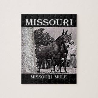Missouri Mule Jigsaw Puzzle