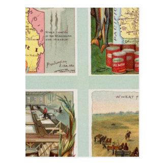 Missouri, Oregon, Iowa, North Dakota Postcard