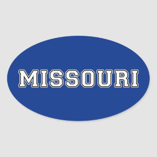 Missouri Oval Sticker