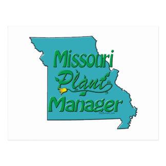 Missouri Plant Manager Postcard