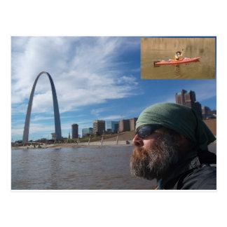 Missouri River Paddle Postcard