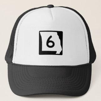 Missouri Route 6 Trucker Hat