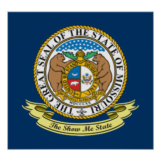 Missouri Seal Poster