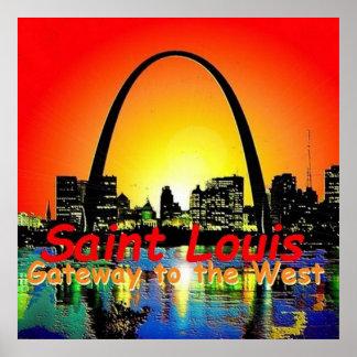 MISSOURI St. Louis Posters