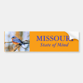 MISSOURI, State of Mind Bumper sticker