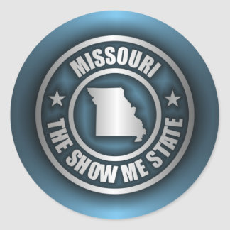 """Missouri Steel (Blue)"" Stickers"