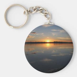 Missouri Sunset Key Ring