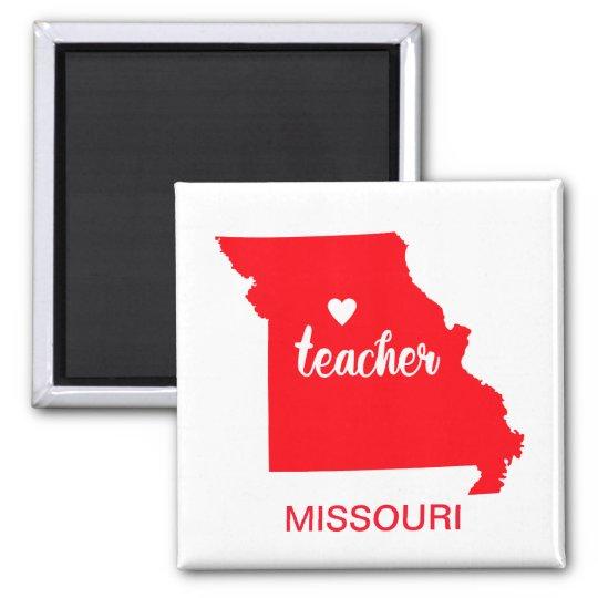 Missouri Teacher Magnet
