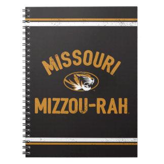 Missouri TIgers | Mizzou - Rah - Retro Notebook
