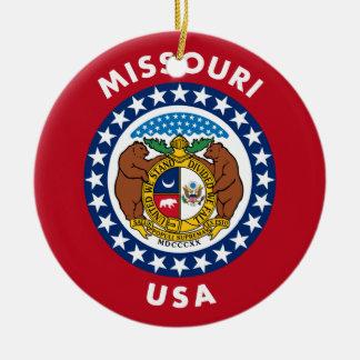 Missouri USA Ceramic Ornament