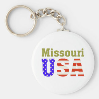 Missouri USA! Key Ring