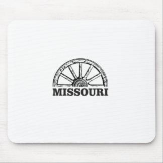 missouri wagon wheel mouse pad