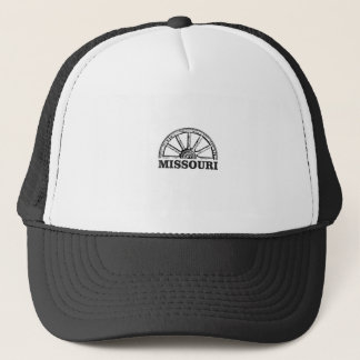 missouri wagon wheel trucker hat