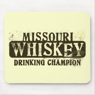 Missouri Whiskey Drinking Champion Mouse Pad