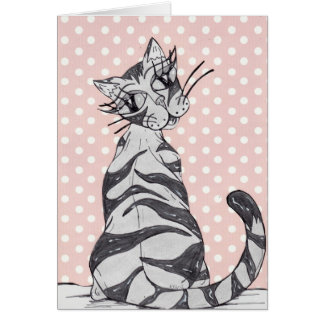 Missy Cat 02 Card