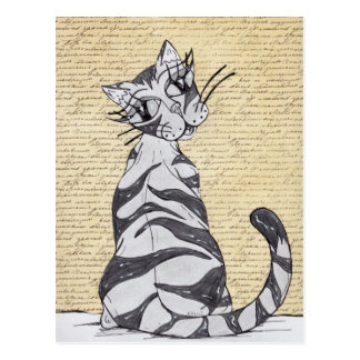 Missy Cat 7 Postcard