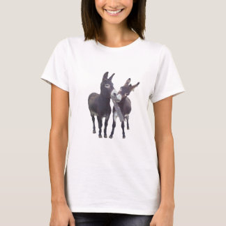 """Missy's Donkeys"" Ladies Petite Tee"