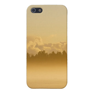 mist in the winter iPhone 5 case